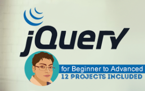 jQuery for Beginner to Advanced: 12 Projects includedImage