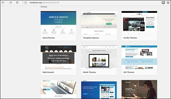 Commercial Theme