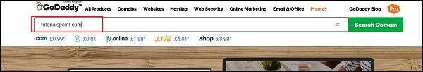 Search Domain