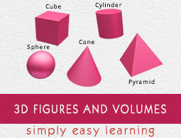 3d Figures and Volumes