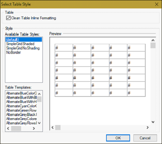 Astonishing Adobe Robohelp Creating Table Styles Download Free Architecture Designs Scobabritishbridgeorg