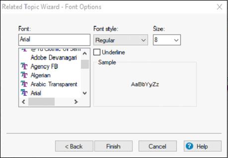 Adobe RoboHelp Link Controls