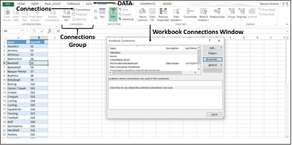 refresh excel link to another workbook advanced excel external data connectionhow to link. Black Bedroom Furniture Sets. Home Design Ideas