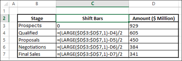 Insert Column in Table