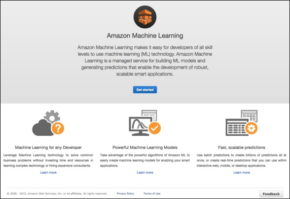 Amazon Web Services Machine Learning