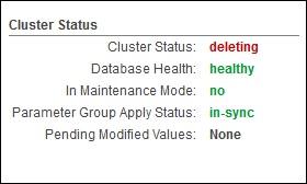 Cluster Status