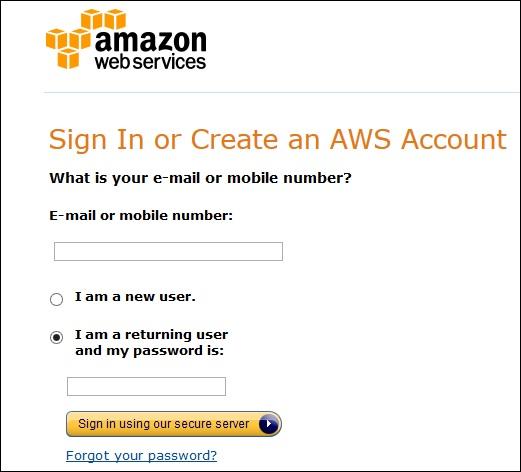 Amazon Web Services - Account