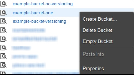 Example Bucket One