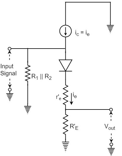 emitter follower and darlington amplifier