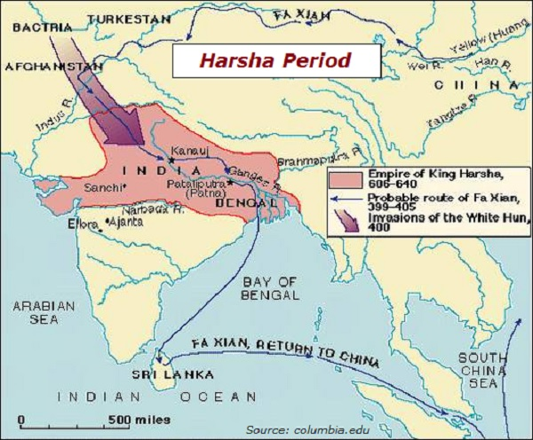 Ancient indian history period of harsha hiuentsang chinese pilgrim also had written in great detail about harsha and india of harshas time publicscrutiny Images