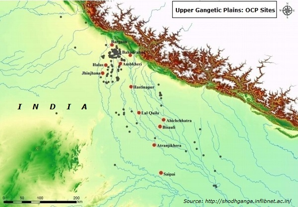 Upper Gangetic Plains OCP Sites