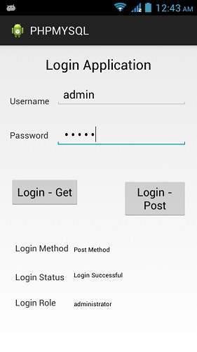 Anroid PHP/MySQL Tutorial