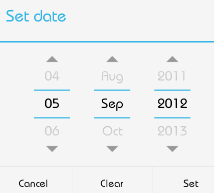 Android - Date Picker - Tutorialspoint