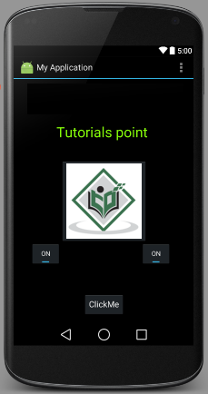 Android - ToggleButton Control