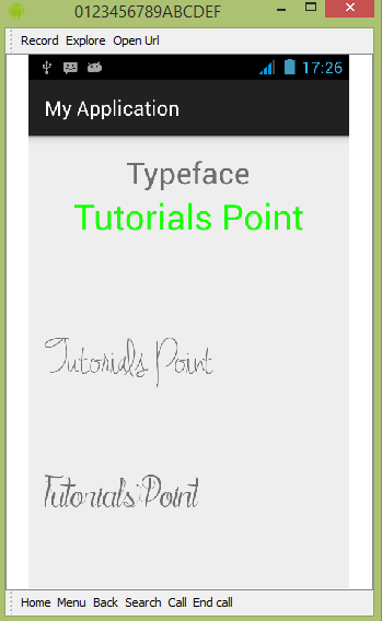Android - Custom Fonts
