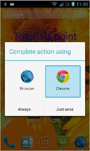 Android - Widgets - Tutorialspoint