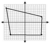 Drawing and identifying a polygon in the coordinate plane Online Quiz 9.1.2