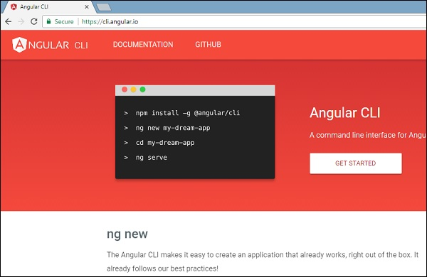 Angular 6 - Project Setup - Tutorialspoint