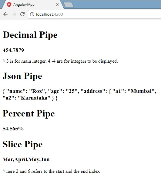 Output For Each Pipe-2