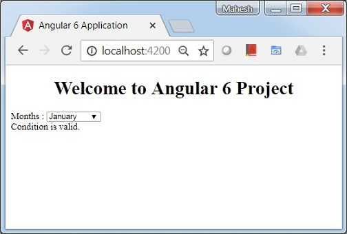 Angular 6 - Quick Guide