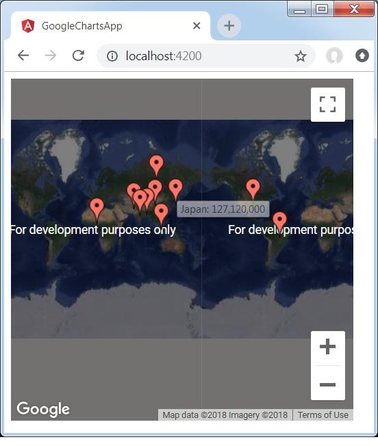 Angular Google Charts - Basic Map Chart on interactive map chart, road map chart, ups map chart, sas map chart, book chart, internet map chart, google maps street view,