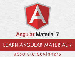 Angular Material 7 Tutorial
