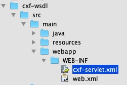 Apache CXF with WSDL First
