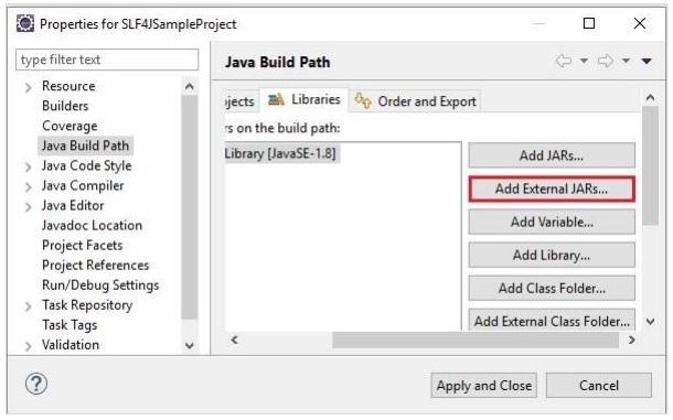 Java Build Path