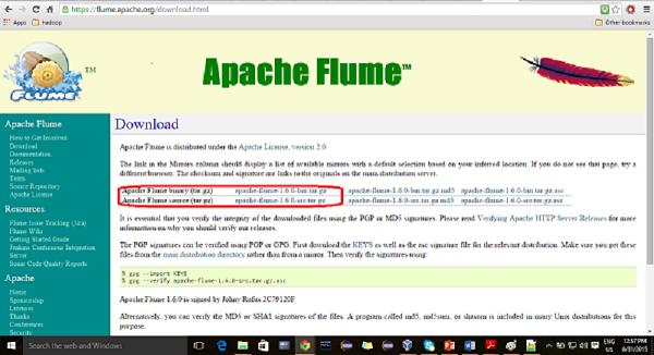 Installing Flume