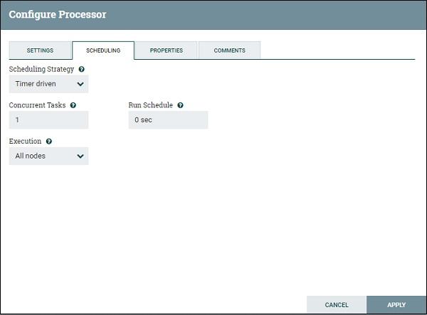 Apache NiFi - Processors - Tutorialspoint