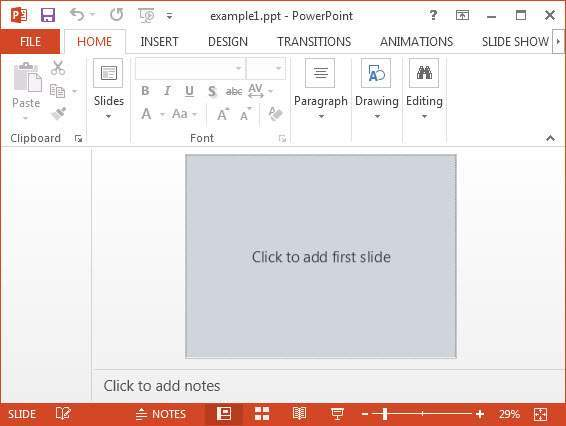 Example PowerPoint