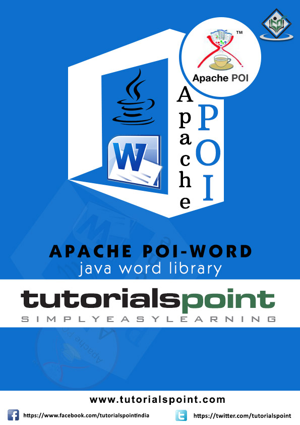 Apache POI Word Tutorial