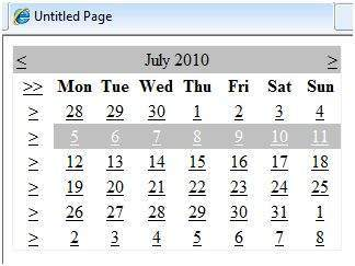 ASP NET - Calendars - Tutorialspoint