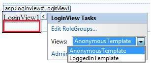 Login View control