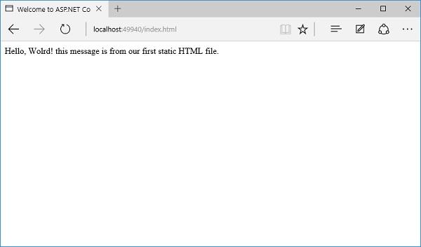 Startup.CS File