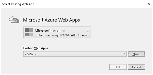 Azure account