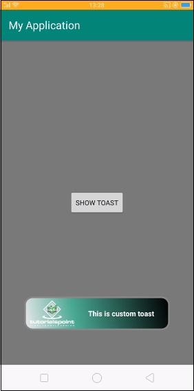 Custom Toast