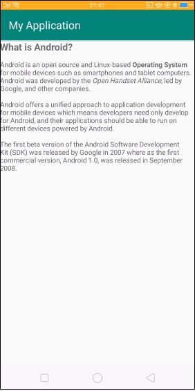Android Description