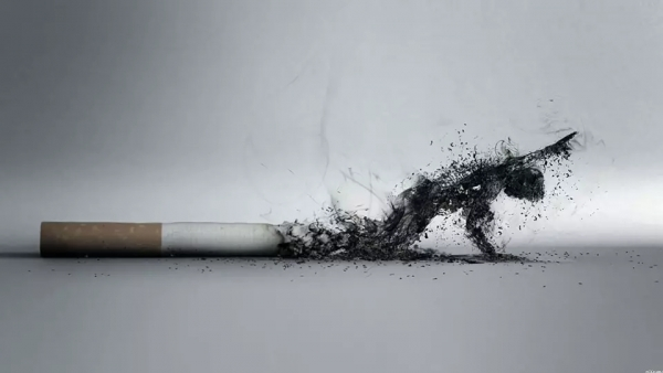 how to quit smoking slowly