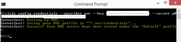 Creating and Deploying using Serverless Framework