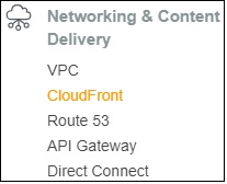 Create Cloudfront