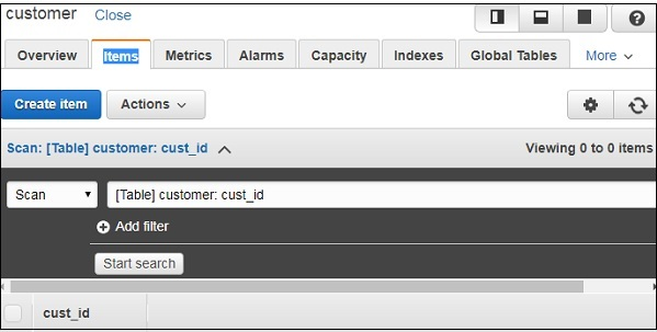 Using Lambda Function with Amazon DynamoDB