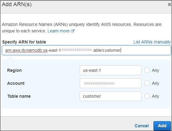 Using Lambda Function with Amazon DynamoDB