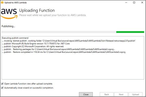 AWS Lambda – Function in C#