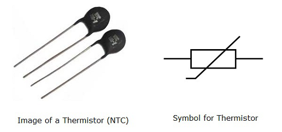 Ntc Thermistor Schematic Symbol Block And Schematic Diagrams