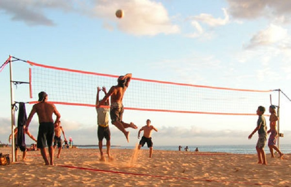 Resultado de imagen de volley ball on the beach
