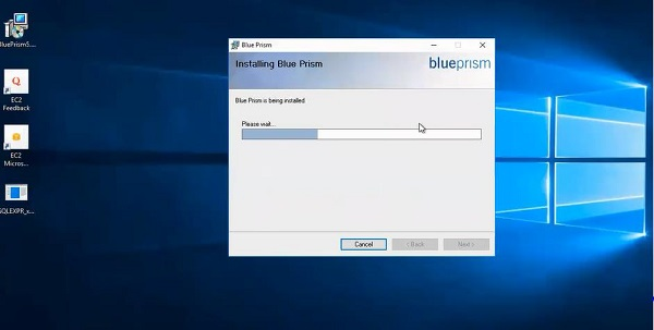 Blueprism Installation Processes