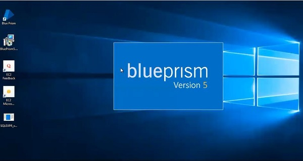 Opening BluePrism