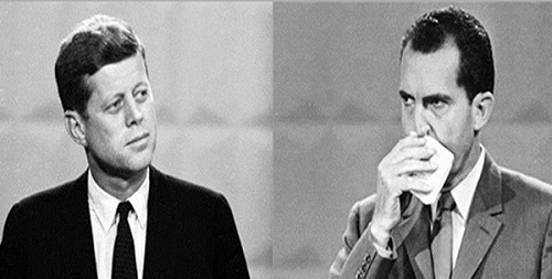 Image result for the first kennedy nixon tv debate