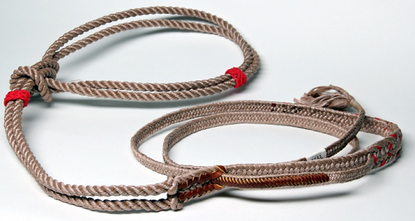"Treestuff samson 1/2"" stable braid bull rope."